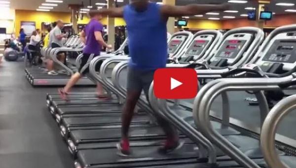 Nigdy nie sądziłem że na siłowni można zobaczyć taki pokaz. Wow