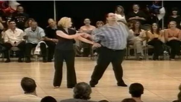 Występu TAKIEJ pary nikt się nie spodziewał... A gdy zaczęli tańczyć, wszyscy...