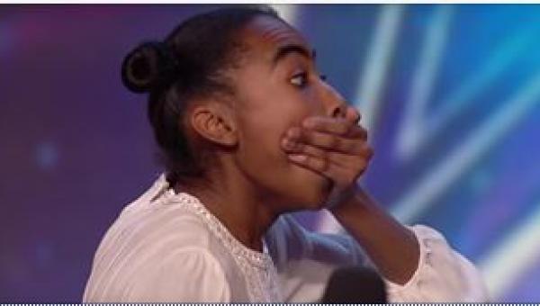 14-latka pojawiła się na castingu do programu typu talent show. Od 39 sekundy...
