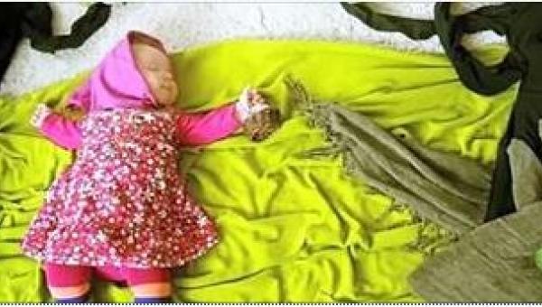 Gdy jej córeczka zasypia, ona chwyta za aparat... Koniecznie zobaczcie...