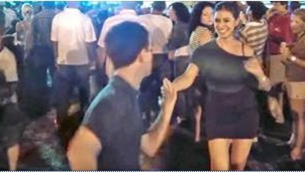 14-latek poprosił do tańca profesjonalną tancerkę. Gdy zaczął tańczyć, jej...