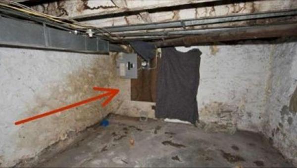 Chciał zdemontować ścianę w piwnicy. To, co za nią znalazł, jest trudne do...