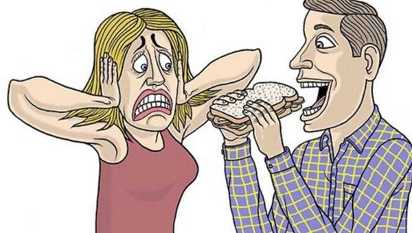 Jeśli przeżuwanie, chrapanie, mlaskanie wywołują u Ciebie reakcję alergiczną,...