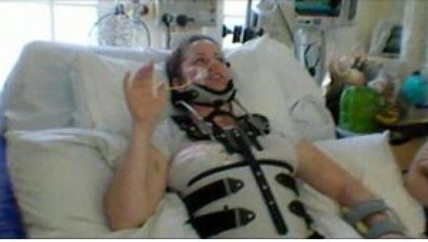 Po wypadku na motorze zapadła w śpiączkę. Po wybudzeniu się kazała lekarzowi...
