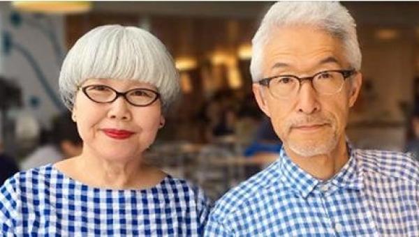 Ta japońska para jest razem od 37 lat i wzbudza zainteresowanie całego...