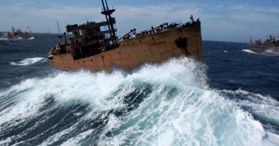 Niedawno Kubańczycy odkryli wrak statku, który zatonął w rejonie Trójkąta w...