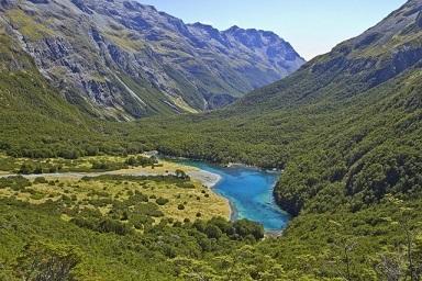 Lasy, góry, wodospady i piękne jezioro - Wyspa Południowa jest rajem na ziemi!