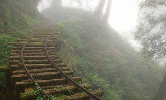 15. Nieczynna kopalnia na Tajwanie.
