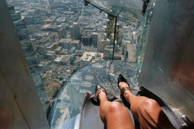 Taki widok rozpościera się z 70 piętra! Tutaj tez znajduje się wspomniana...