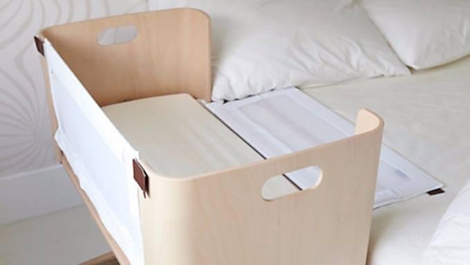 Matka kupiła łóżeczko, które montuje się do łóżka rodziców. Boki tego...