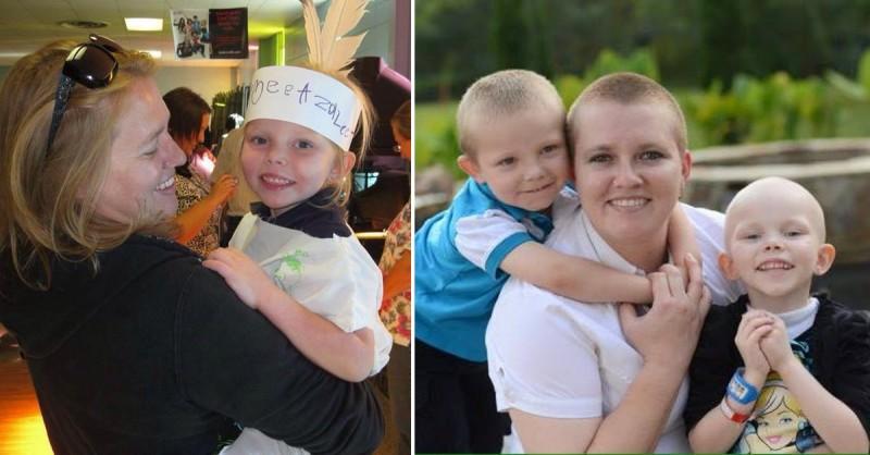 Azalee zmarła na raka i nie miała okazji poznać wybranka swojej mamy....