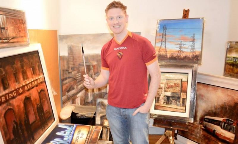 Pozwólcie przedstawić sobie : Francis McCrory, mistrz malowania świata...