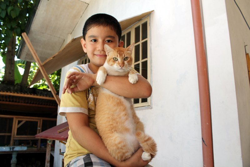 Na chwilę obecną dzielny chłopiec uratował już prawie 40 zwierząt! Teraz do jego