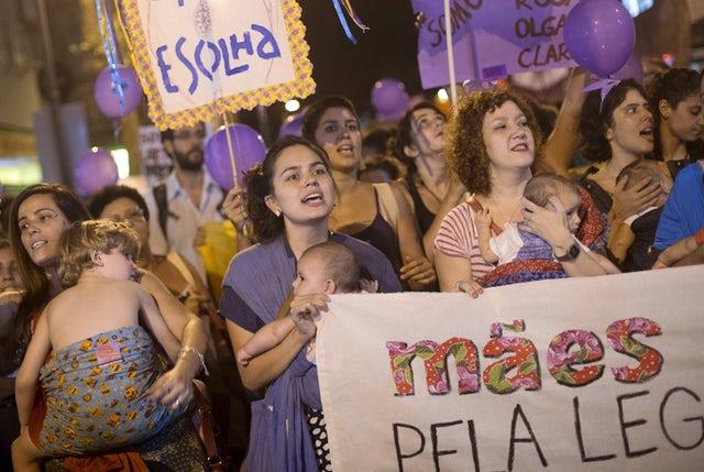 <b>4. Brazylia </b><br><br><br />Według danych, w Brazylii co 15 sekund kobieta...