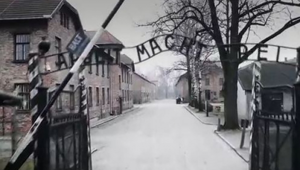 Sfilmowali teren Auschwitz z drona. To co widać sprawia, że ciarki przechodzą...