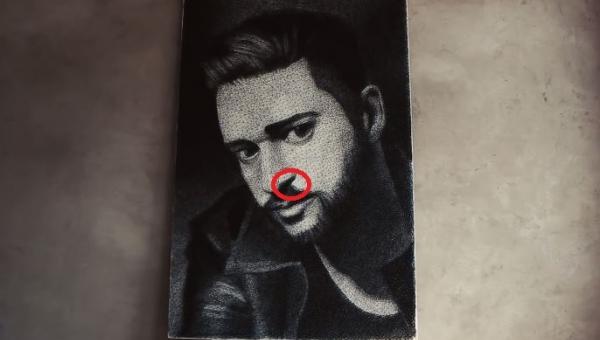 To nie jest obraz mężczyzny! Zobacz, jaką tajemnicę ukrywa.