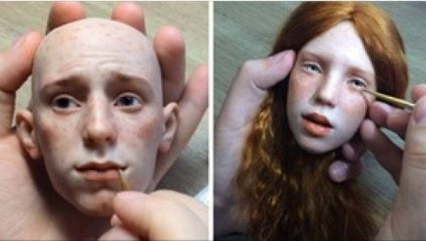 Ten rosyjski artysta tworzy tak realistyczne lalki, że aż wywołuje ciarki...