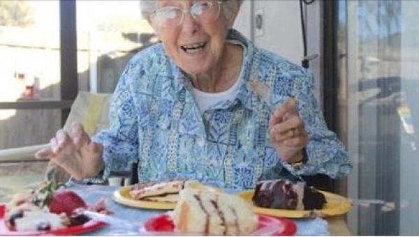 Gdy u tej 90-latki zdiagnozowano raka, odmówiła poddania się chemioterapii....