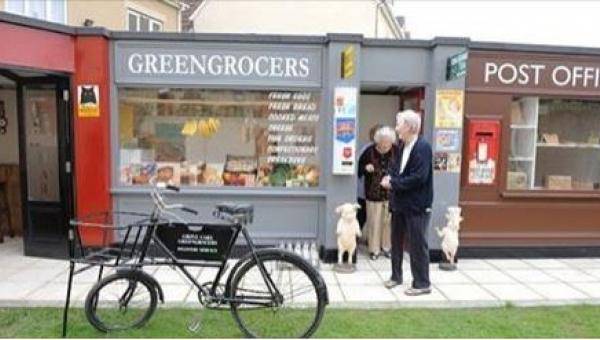 W pewnej holenderskiej miejscowości mieszkają tylko osoby w podeszłym wieku....