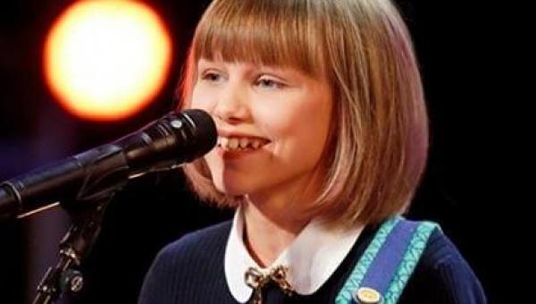 12-letnia dziewczynka oczarowała jurorów swoim występem. Zobaczcie co stanie...