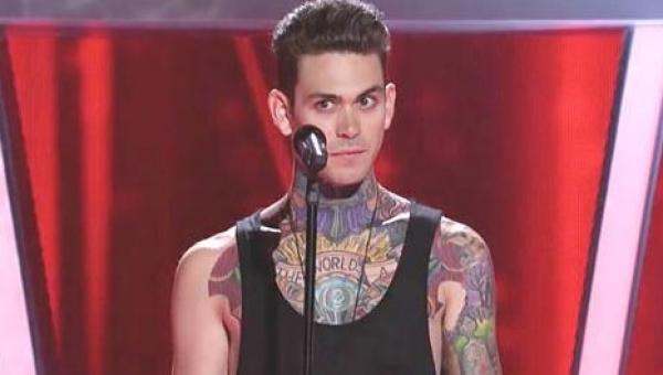 Na scenę wszedł uczestnik pokryty tatuażami. To co stało się, gdy zaczął...