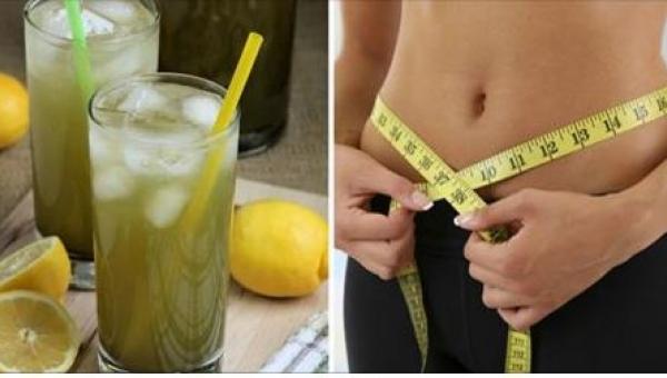Za sprawą lemoniady z zielonej herbaty zrzucicie zbędne kilogramy! To przepis...