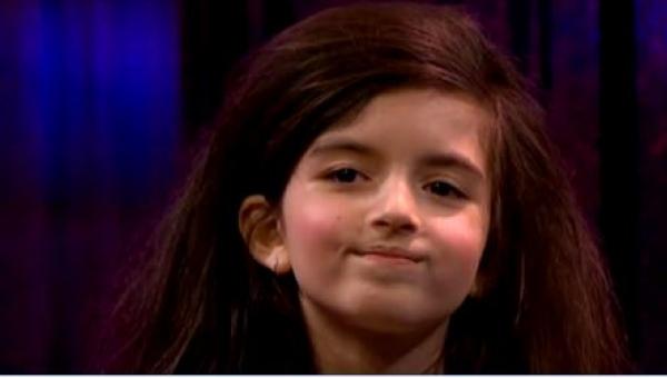Słuchając tej dziewczynki, wszyscy ZAWSZE mają gęsią skórkę. Przekonajcie...