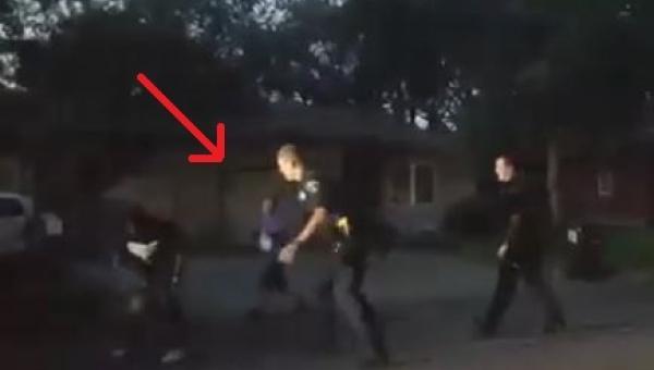 Ktoś zadzwonił na policję bo dzieci grały w koszykówkę na podwórku. Reakcja...