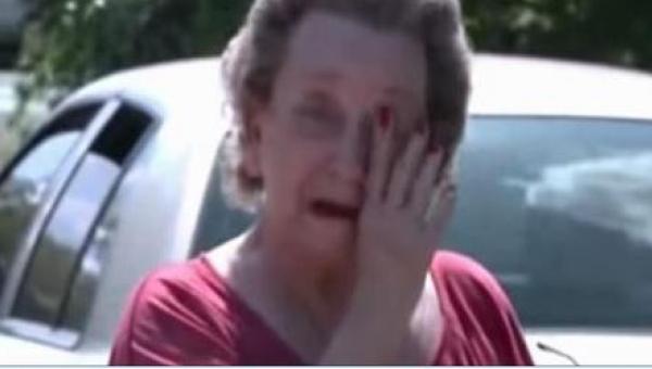 4 chłopaków zakradło się do ogrodu 75-latki. Gdy kobieta przyłapała ich na...
