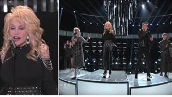 Najnowsze wykonanie kultowego hitu Dolly Parton w programie The Voice...
