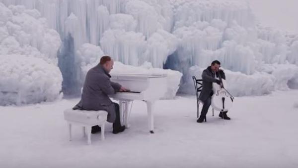 Zagrali Zimę Vivaldiego i Let it go z Krainy Lodu. Efekt? Przepiękny!