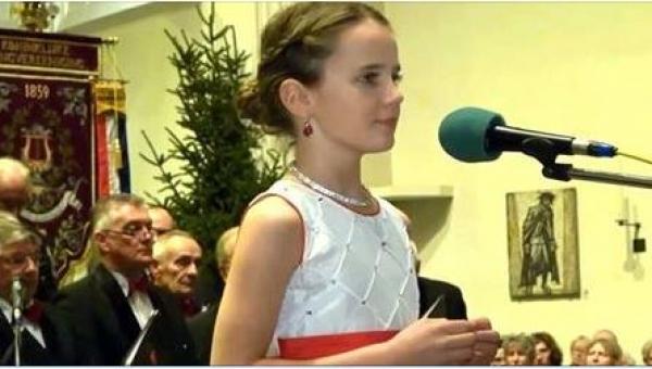 Najsłynniejsza 12-latka świata wykonuje kolędę O Holy Night w sposób, który...