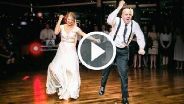 Pierwszy taniec córki z ojcem na weselu, który stał się hitem internetu!