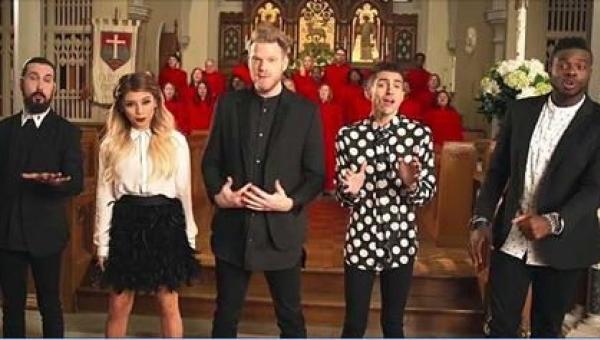 Ponad milion odsłon w kilka godzin - świąteczna piosenka Pentatonix już...