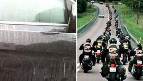20 motocyklistów czekało na chłopca pod szkołą. Powód - niesamowity!