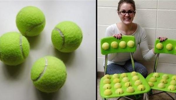 Kiedy ta nauczycielka przykleiła piłki tenisowe do krzeseł nie spodziewała...