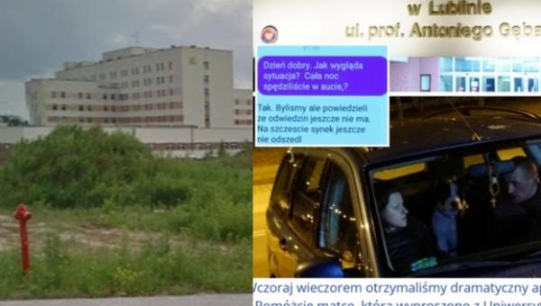 Skandal na Lubelszczyźnie. Personel szpitala wyprosił matkę umierającego...