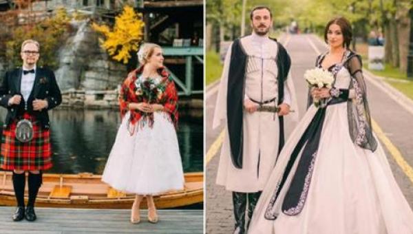 17 najciekawszych, tradycyjnych strojów ślubnych z całego świata. Numer 11...