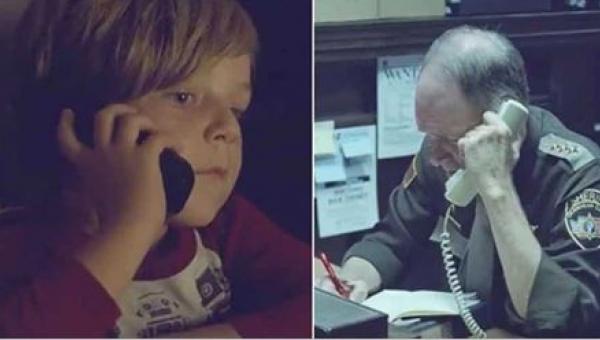 Chłopiec dzwoni na policję w poszukiwaniu swojej mamy, która jest w niebie....