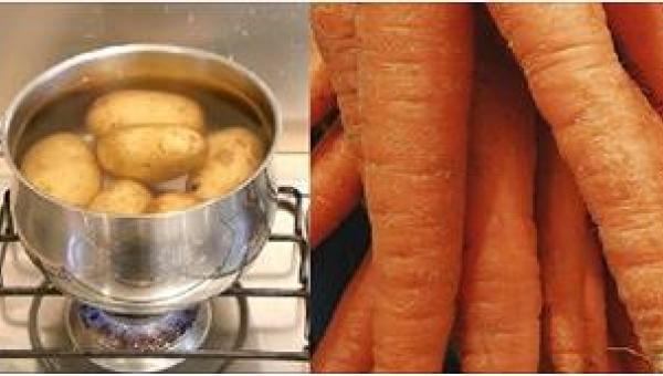 Od dziś do gotujących się ziemniaków będę wrzucać marchewkę! Szkoda, że nie...