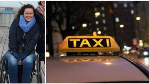 Taksówkarz odmawia zabrać kobietę poruszającą się na wózku inwalidzkim. To,...