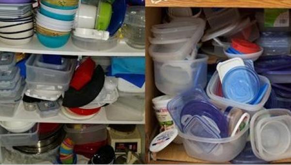 W tysiącach kuchni panuje chaos ze względu na niezliczoną ilość plastikowych...