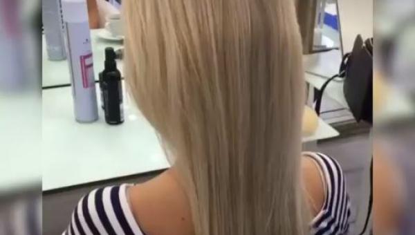 Poprosiła o bajeczną fryzurę na ślub... Zobaczcie, co zrobiła fryzjerka.