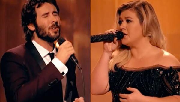 Słuchając tego duetu Josha Grobana i Kelly Clarkson mam łzy w oczach