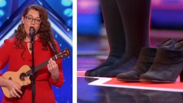 Kobieta wyszła na scenę programu Mam Talent i zdjęła buty. Powód? Niewiarygodny!