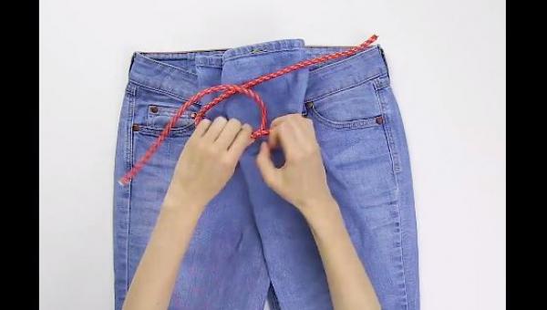 Nie wiedziałam, że można tak łatwo wybrać idealny rozmiar jeansów... bez ich...