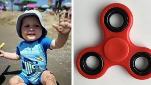 Roczny chłopczyk otarł się o śmierć po zabawie najpopularniejszym gadżetem...