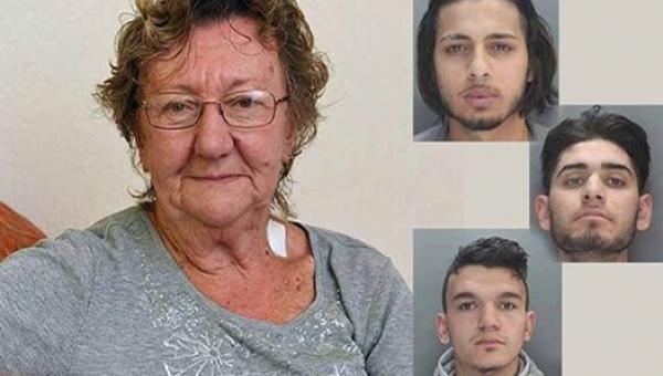 77-latka wypłacała pieniądze z bankomatu, kiedy 3 mężczyzn podeszło do niej....