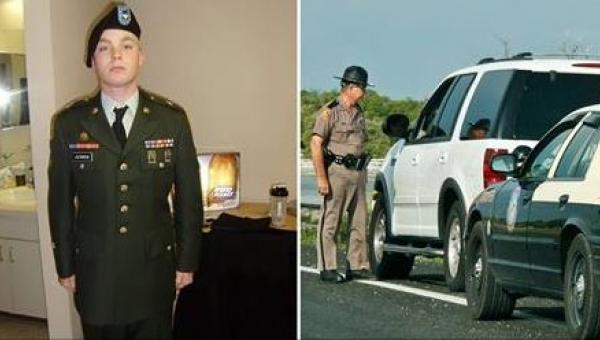 Policjant zatrzymał weterana wojennego. Powód doprowadził mnie do łez.