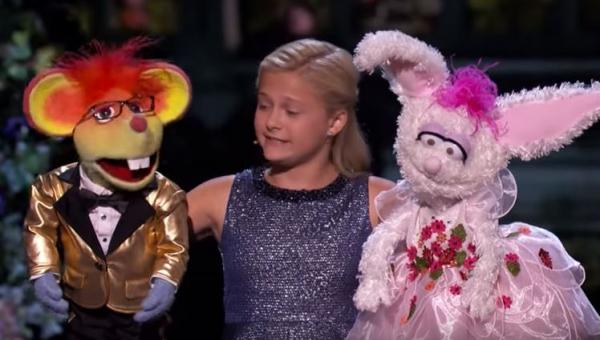 Śpiewająca brzuchomówczyni przeszła samą siebie w finale programu Mam Talent!